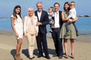 La famiglia Bianchi al completo